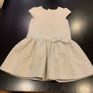 Girl's Kate Spade Gold Dress